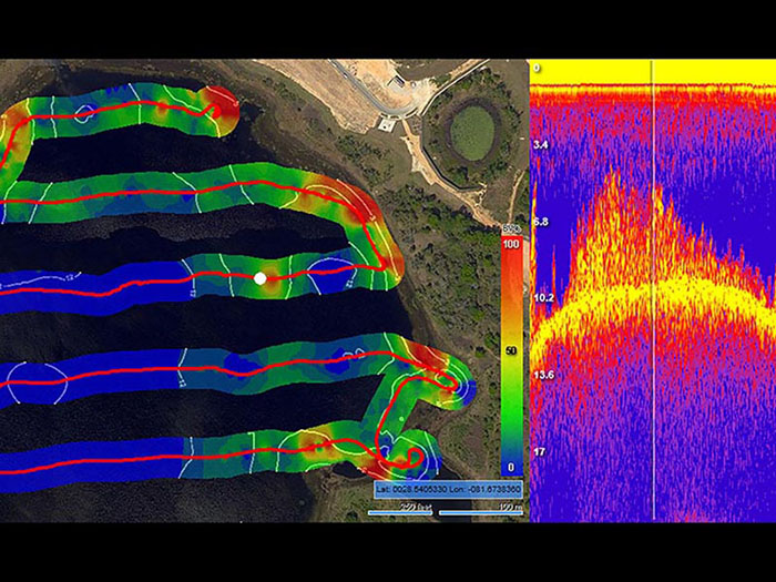 sonar mapping image